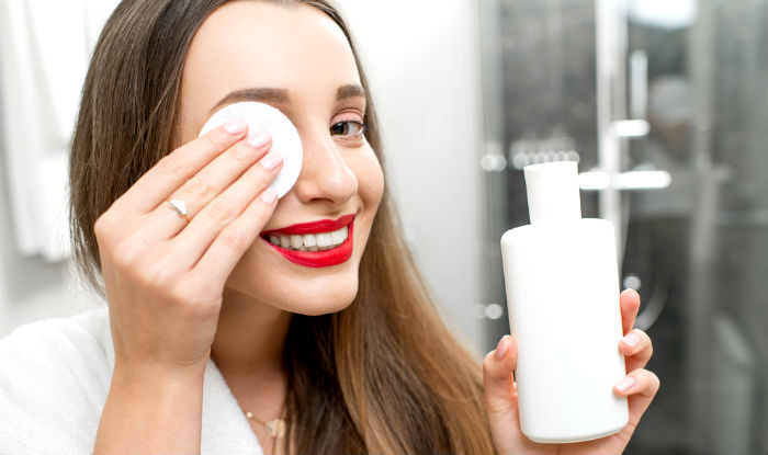 Use an oil-free makeup remover