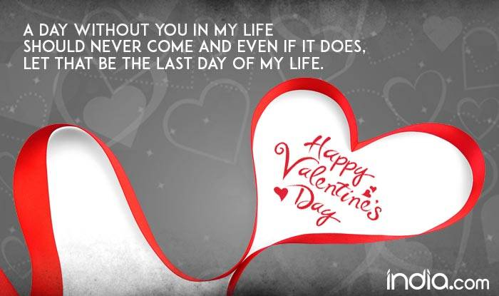 Valentine's Day 40 Wishes Best Romantic Quotes SMS Facebook Enchanting Valentines Day Singles Quotes