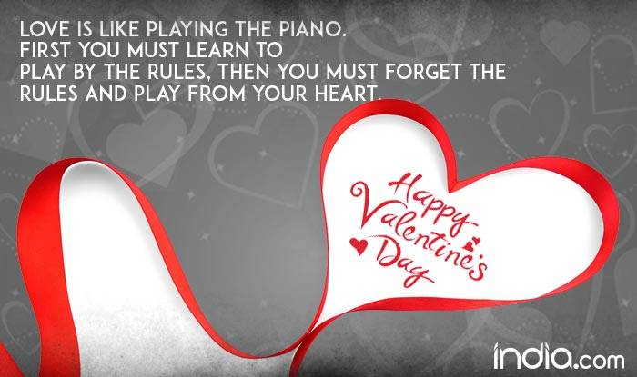 Valentine's Day 40 Wishes Best Romantic Quotes SMS Facebook Enchanting Valentine Day Emotional Quotes