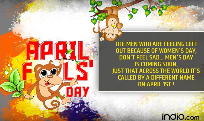 April Fools Day 2017 jokes SMSes