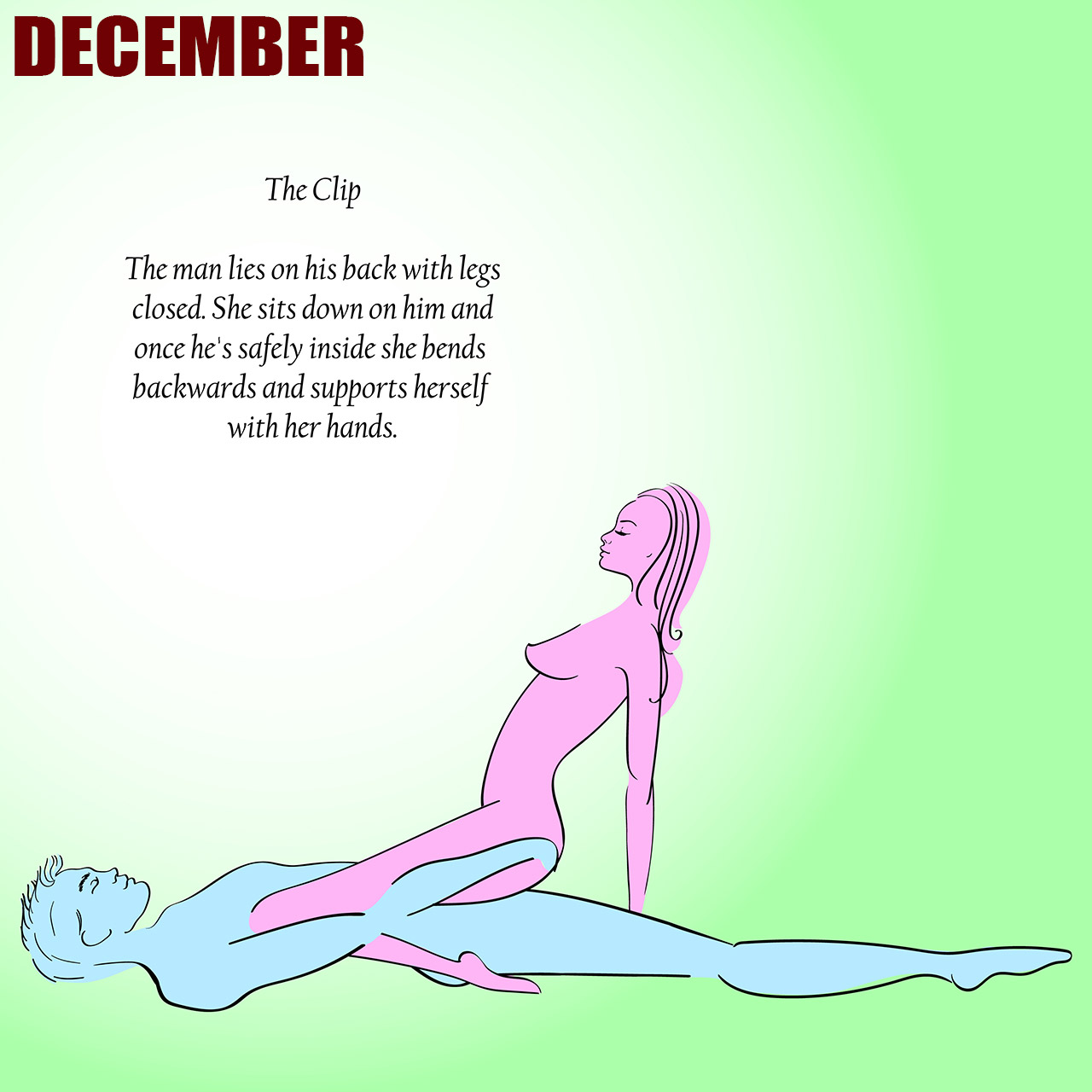 Sex positions for each month
