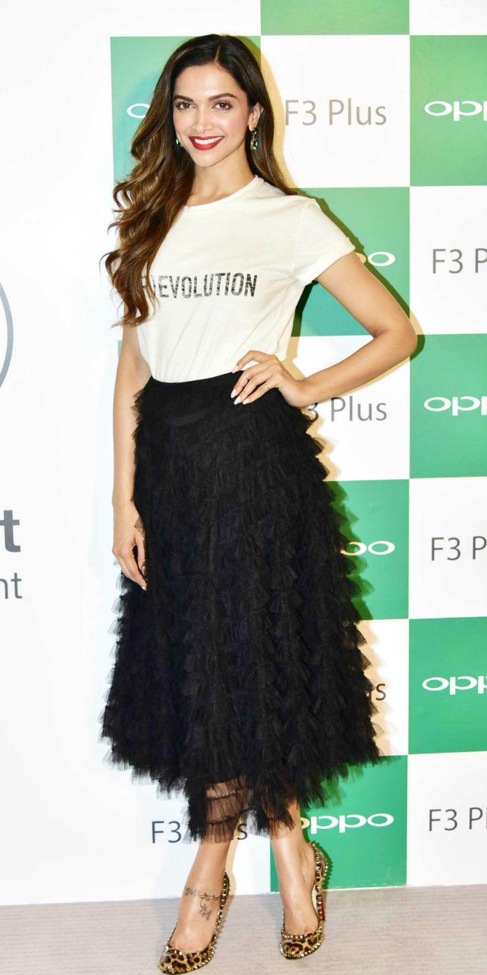 Deepika Padukone for Opppo F Plus