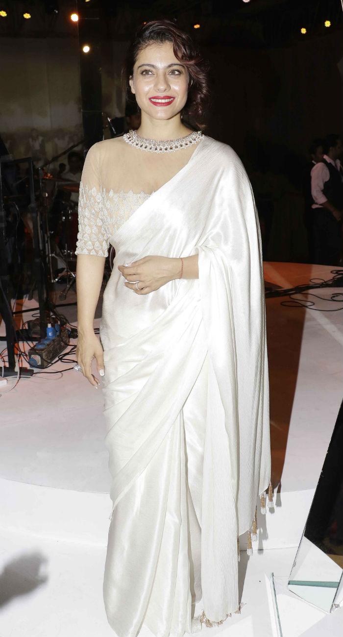 Kajol Saree Style