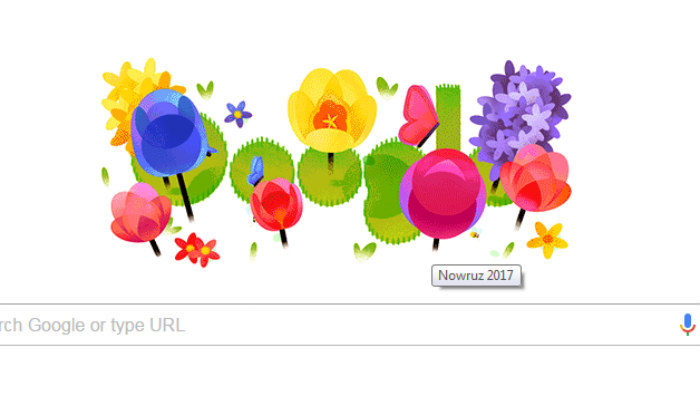 nowruz mubarak wishes and greetings cannot be more colorful than this google doodle nowruz 2017 the persian new year is here