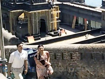 Akshay Kumar and Radhika Apte start Padman shoot in Indore