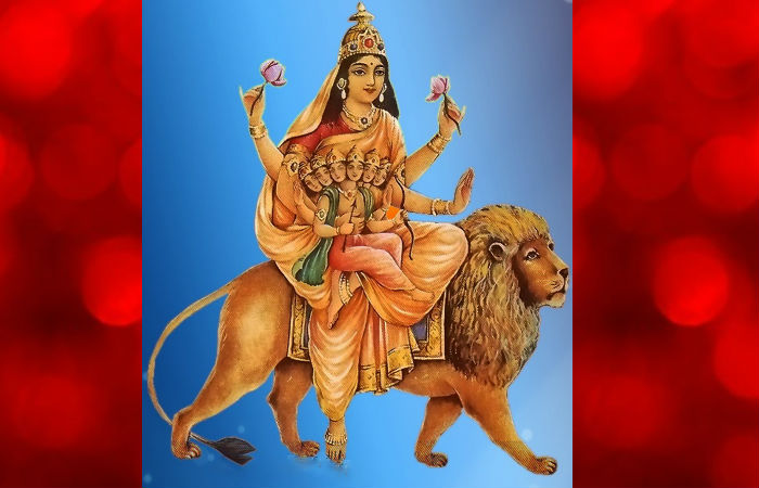 Image result for Navratri Day 5 : Know about importance of Goddess Katyayani