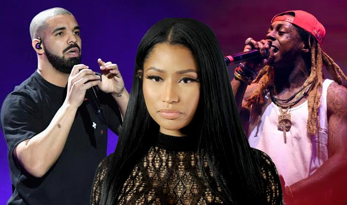 nicki minaj releases 3 new songs with drake and lil wayne on itunes