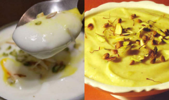 This Indian Sweet Dish Is A Flavoured Yoghurt Which Is Made Up Of Strained Yoghurt A Maharashtrian Traditional Cuisine Shrikhand Is An Essential Dish On