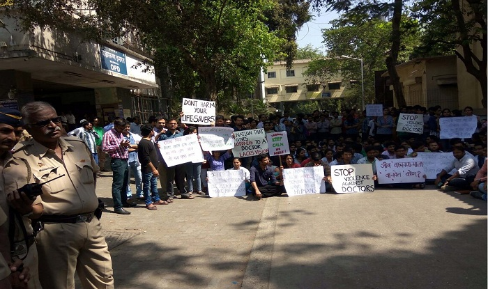 maharashtra doctors strike  protesting medicos have agreed