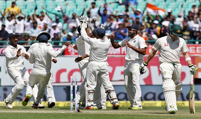 India Vs Australia 2017 Match highlights, 4th Test: India flatten Australia,  cap off home season with series win   India.com