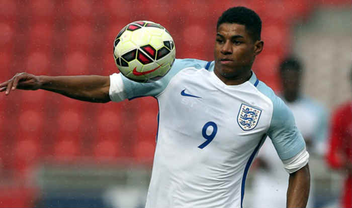new product 2fd75 91c1d Marcus Rashford likely to be named in England football squad ...