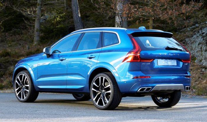 New-generation Volvo XC60 rear