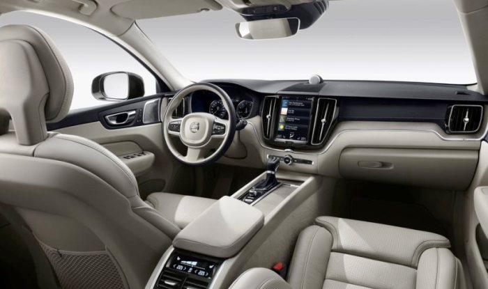 New-generation Volvo XC60 cabin