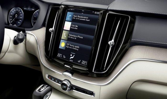 New-generation Volvo XC60 infotainment system
