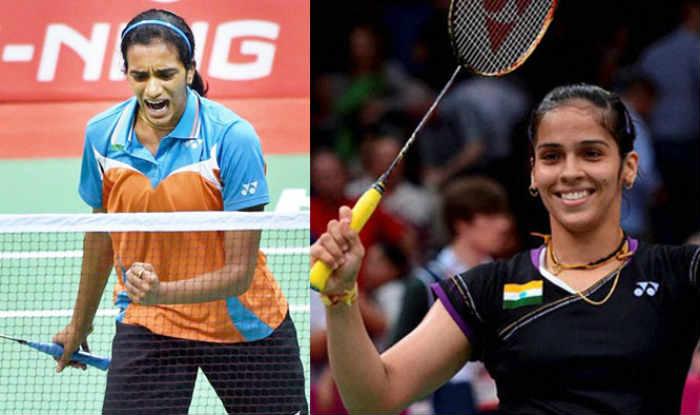PV Sindhu and Saina Nehwal.
