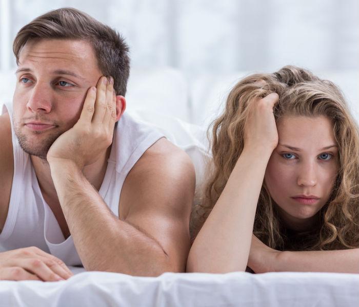 decrease of sexual desire