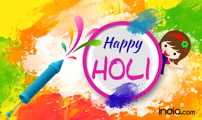 Happy Holi 2017 Wishes Best Holi Festival Whatsapp Messages