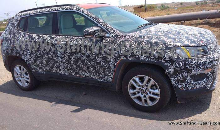 Jeep Compass premium SUV interior spied again; India launch in ...