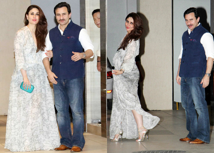 Don T You Think Kareena Kapoor Khan And Saif Ali Looked Gorgeous Together On The Work Front Bebo Is Gearing Up For Sonam S Veere Di Wedding