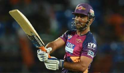 Rising Pune Supergiant's MS Dhoni played a match winning 61 off 34 innings against Sunrisers Hyderabad. (BCCI Image)