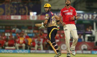 गौतम गंभीर ने केकेआर के लिए 49 गेंदों में 72 रन की जोरदार पारी खेली (BCCI)