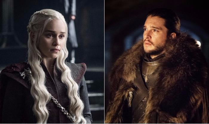 Emilia Clarke Aka Daenerys Targaryen of Game of Thrones Walks Around New York as Jon Snow