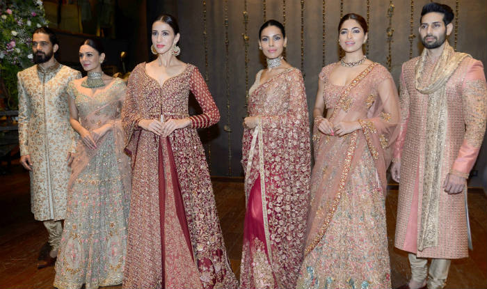 4205b64182c24 Designers Shyamal & Bhumika's summer bridal collection is a breath of fresh  air! VIEW PICS