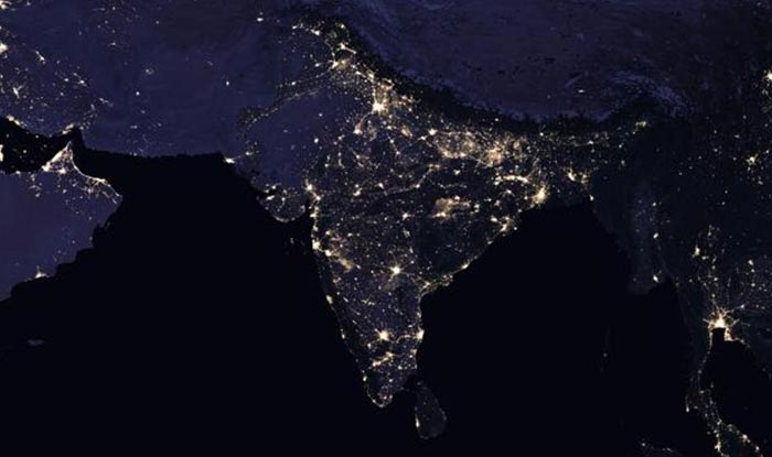 NASA releases beautiful night pictures of India and globe ...