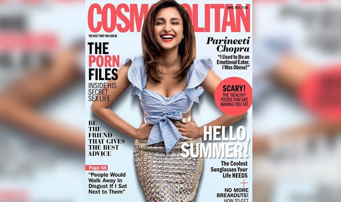 Parineeti Chopra Etches Her Journey From Flab To Fab As The April 2017 Cover Girl For