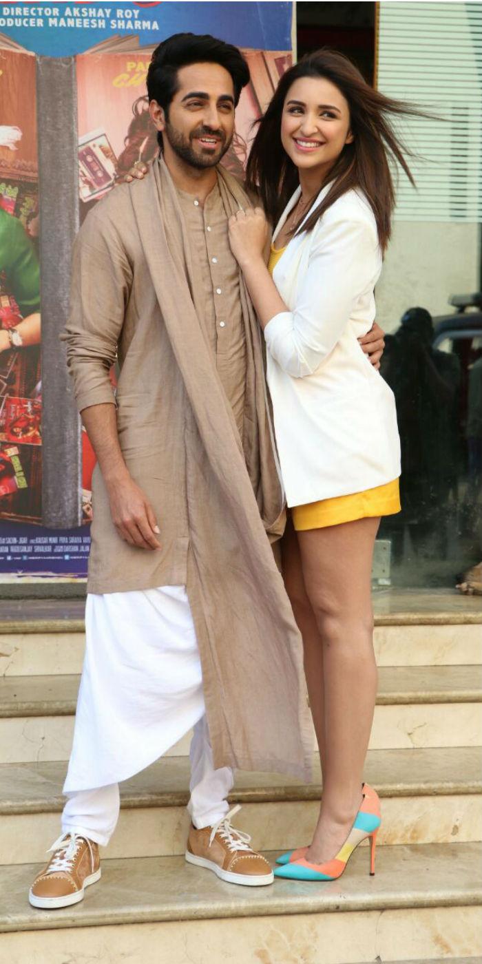 Parineeti Chopra and Ayushmann Khurrana