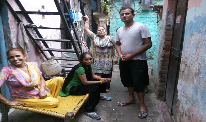 Residents of Raghubir Nagar complain about sanitation and drinking water.