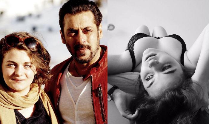 Salman Khan With Austrian Model Ronja Forcher