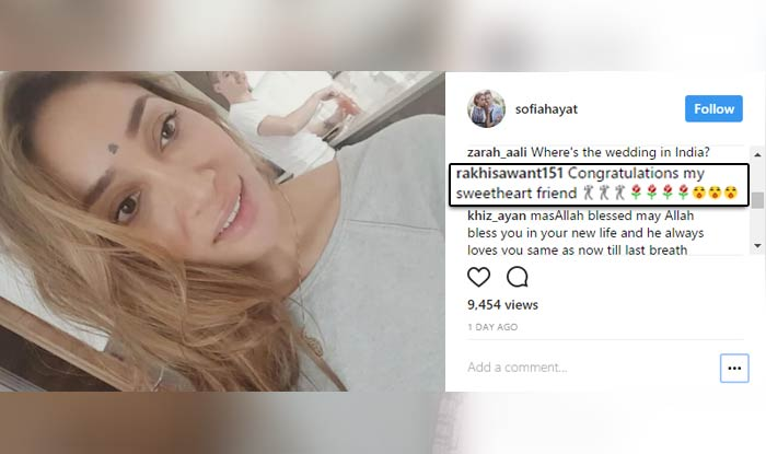 Sofia Hayat has a royal wedding, after all the nun-sense