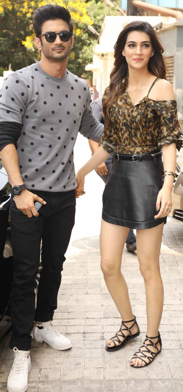 Sushant Singh Rajput and Kriti Sanon make for a handsome pair in Raabta