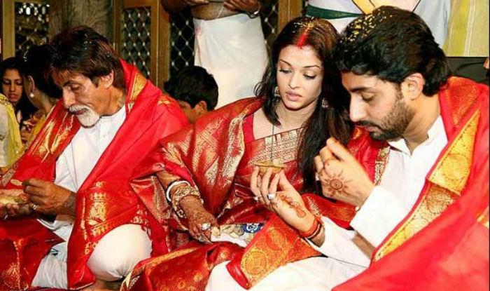 Image result for abhi aish wedding