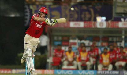 पंजाब के लिए मिलर ने 19 गेंदों पर 28 रन की तेज पारी खेली (bcci)
