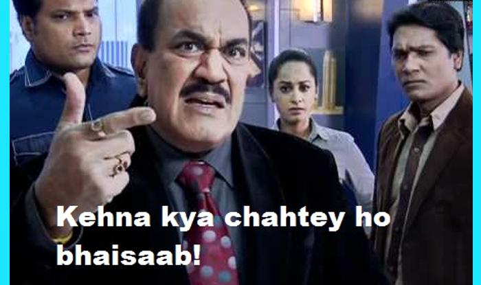 Best Cid Jokes And Memes Of Acp Pradyuman On Actor Shivaji