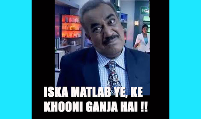 h4 best cid jokes and memes of acp pradyuman on actor shivaji satam's,Acp Pradyuman Meme