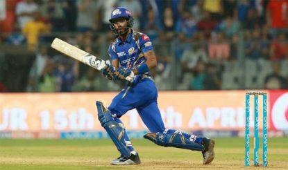 हार्दिक पंड्या ने दबाव के क्षणों में मुंबई के लिए 11 गेंदों पर 29 रन की जोरदार पारी खेली (bcci)
