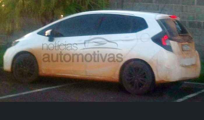 Honda Jazz 2017 facelift spy images reveal design changes and new ...