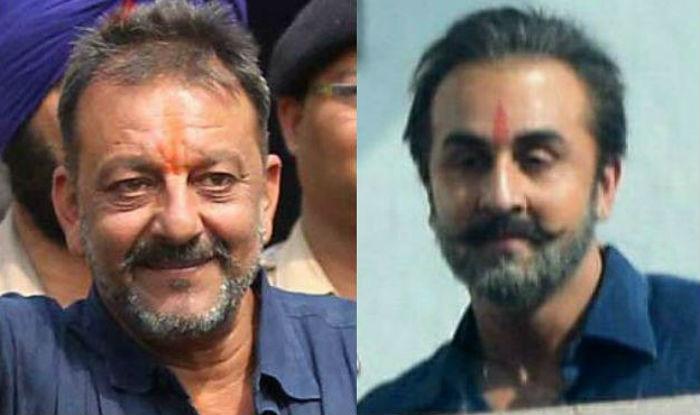 Sanjay Dutt Biopic Ranbir Kapoor S Look Sparks Funny