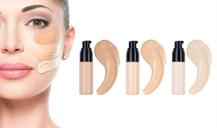 Use two different shades of foundation