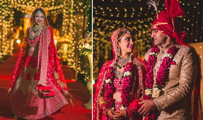 Pooja Banerjee's wedding pictures are straight out of a fairy tale! (View pictures)