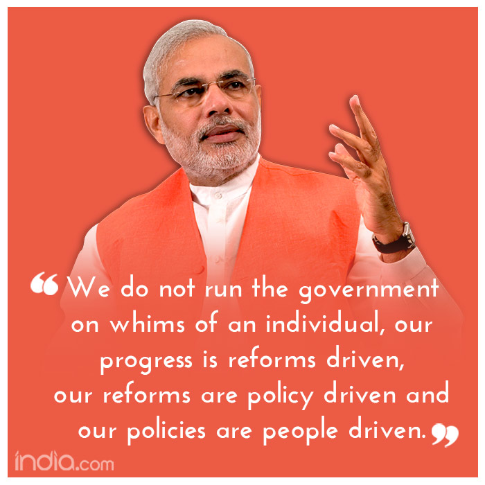 3 years of Narendra Modi Government: Top 34 quotes of Prime