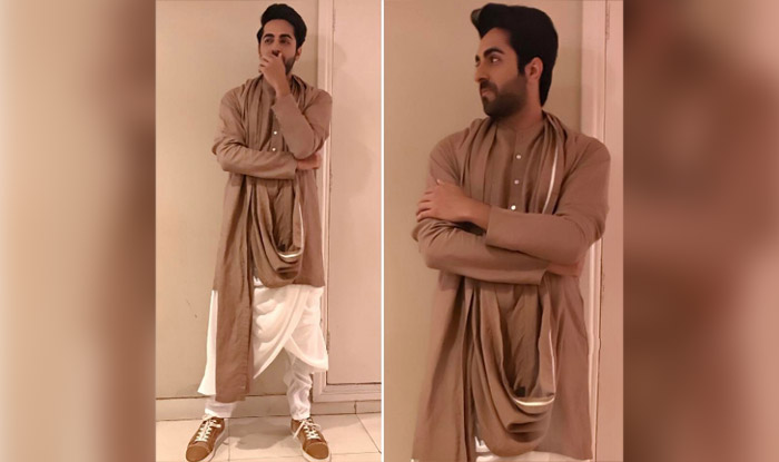 Ayushmann Khurrana take quirk to the next level