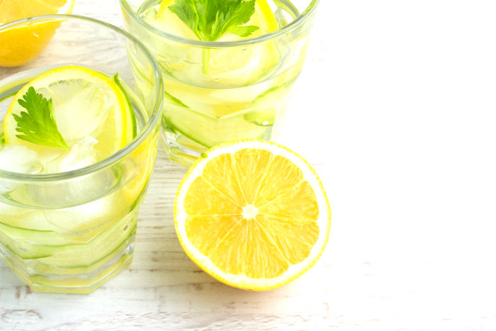Lemon and coriander