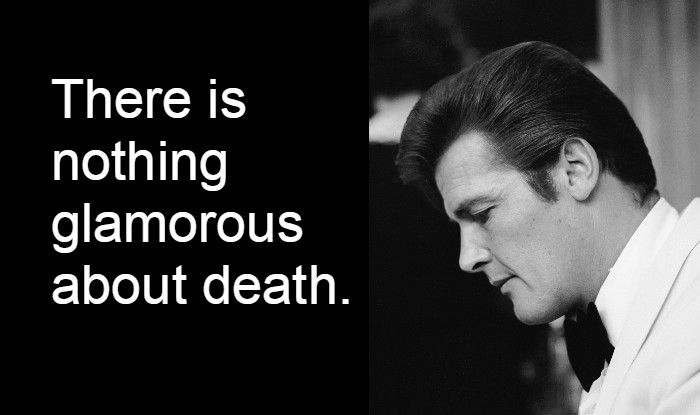 Roy Moore Quotes Simple Sir Roger Moore Dead Best Quotes By English Actor Who Remains The