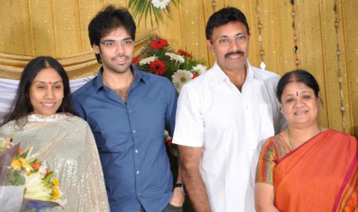 Sathyaraj with family