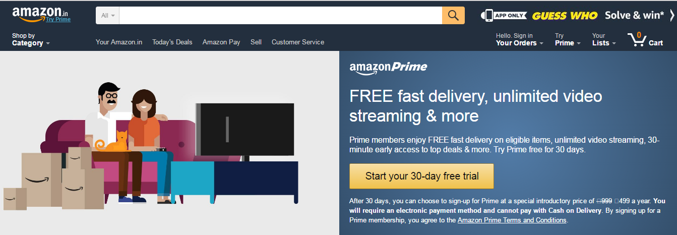 Amazon Prime: How to become Amazon Prime member to enjoy
