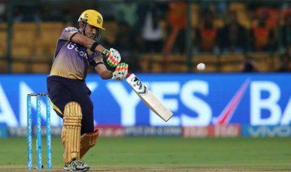गौतम गंभीर ने केकेआर के लिए 19 गेंदों में 32 रन की शानदार नाबाद पारी खेली (bcci)